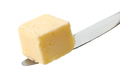 butter cube on knife - PhotoDune Item for Sale