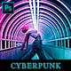 Cyberpunk - Photoshop Action - GraphicRiver Item for Sale
