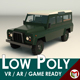 Low Poly SUV 02 - 3DOcean Item for Sale