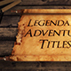 Epic Scroll Titles Bundle - VideoHive Item for Sale