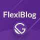 FlexiBlog - React Gatsby Multipurpose Blog Theme