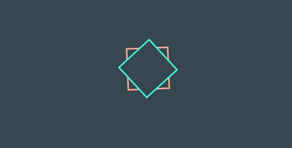 Eva - Awesome Square Pre Loader Animation