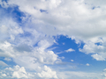 Blue sky with white clouds. Cloudscape. Summer background - PhotoDune Item for Sale
