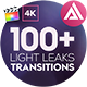 FCPX Light Leaks Transitions - VideoHive Item for Sale
