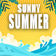 Happy Summer Beach Vacation
