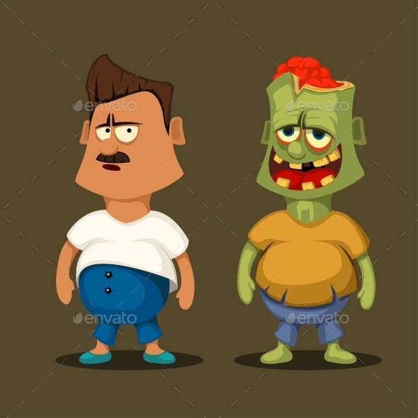 Zombie and Non Zombie