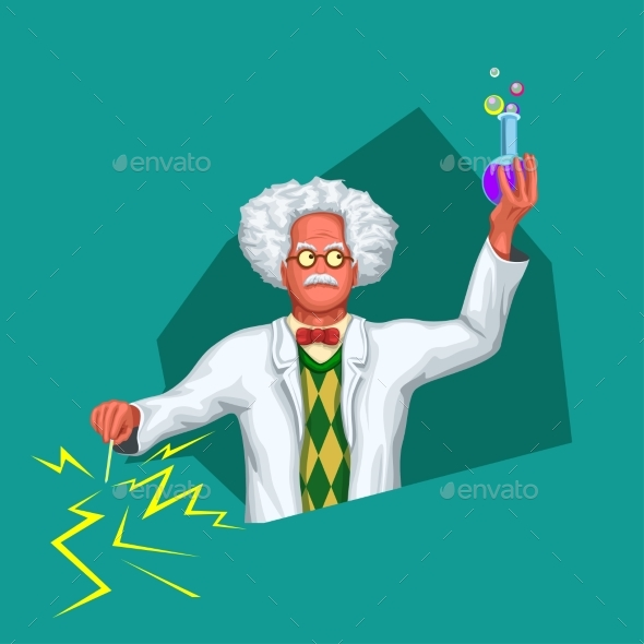 Scientist in White Coat