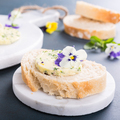 Sandwich with herb and edible flowers butter - PhotoDune Item for Sale