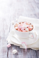 Hot chocolate with mini marshmallows - PhotoDune Item for Sale