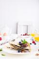 Breakfast toast with chocolate nut paste - PhotoDune Item for Sale
