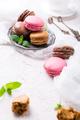 Cake macaron or macaroon, colorful almond cookies - PhotoDune Item for Sale