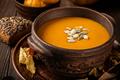 Vegetarian autumn pumpkin cream soup - PhotoDune Item for Sale