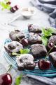 Homemade chocolate cherry brownie cake - PhotoDune Item for Sale