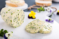 Herb butter with edible flowers - PhotoDune Item for Sale