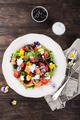 Fresh salad with smoked salmon - PhotoDune Item for Sale