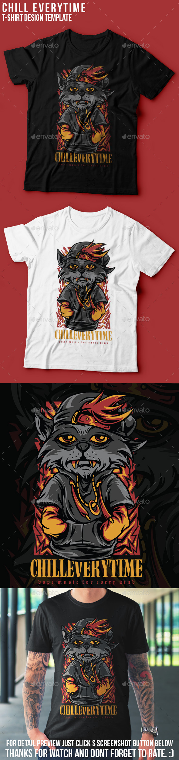 Chill Everytime T-Shirt Design
