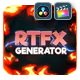 RTFX Generator for Final Cut Pro X & Apple Motion
