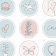 Modern Line Beauty Instagram Highlights - GraphicRiver Item for Sale