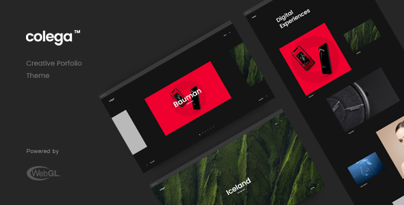 Colega - Creative Portfolio Theme