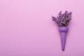 Bouquet of lavender in the ice cream cone - PhotoDune Item for Sale