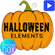 Halloween Elements Pack - VideoHive Item for Sale