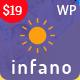 Infano - Kindergarten & Preschool WordPress Theme - ThemeForest Item for Sale