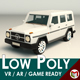Low Poly SUV 03 - 3DOcean Item for Sale