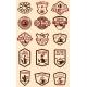 Set of Vintage Tea House Labels. Design Element - GraphicRiver Item for Sale
