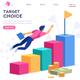 Achievement Target Choice Concept - GraphicRiver Item for Sale