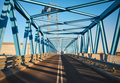 Blue bridge at sunset. - PhotoDune Item for Sale