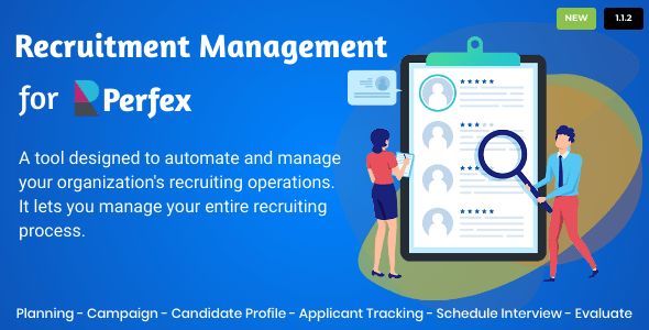 Recruitment Management for Perfex CRM Download