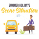 Summer holidays - Scene Situation - VideoHive Item for Sale