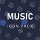 Music Player Icon Pack - GraphicRiver Item for Sale