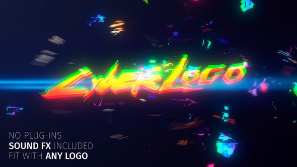 Glitch Cyber Logo