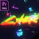 Glitch Cyber Logo Mogrt - VideoHive Item for Sale