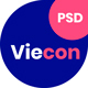 Viecon - Agency PSD Template