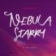 Nebula Starry Script - GraphicRiver Item for Sale