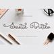 Smotie Butter Monoline Script - GraphicRiver Item for Sale
