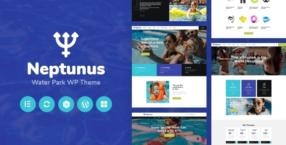 Neptunus - Water & Amusement Park WordPress Theme