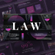 Law Company Lawyer PowerPoint Presentation Template - GraphicRiver Item for Sale