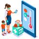Coronavirus Diagnosis Medical Concept - GraphicRiver Item for Sale