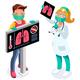 Coronavirus Infection Risk Symbol - GraphicRiver Item for Sale