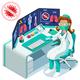 Coronavirus Symbolic Alert Infection - GraphicRiver Item for Sale