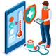 Covid Diagnosis Medical Concept - GraphicRiver Item for Sale