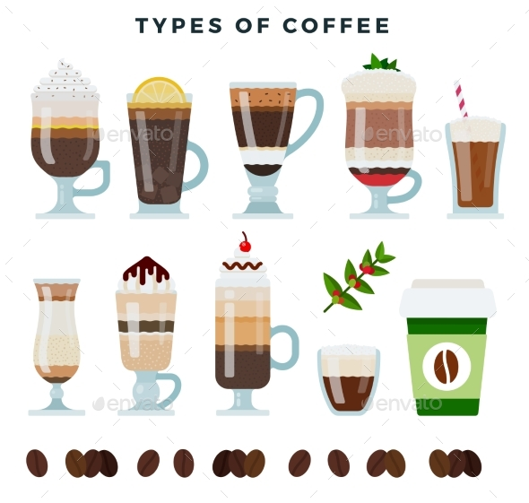 Different Types of Coffee Various Coffee Drinks