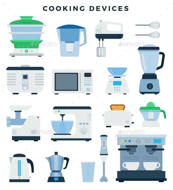 Kitchen Appliances and Electronics