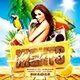 Hot Summer Nights Party Square Flyer - GraphicRiver Item for Sale