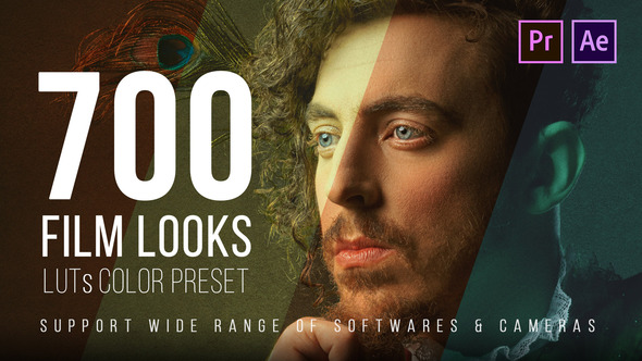 700 Film Looks - LUT Color Preset Pack