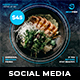 Fish Social Media Templates - GraphicRiver Item for Sale