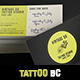 Studio Tattoo Business Card Template - Photoshop - GraphicRiver Item for Sale